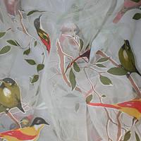 Ткань для тюля органза колибри