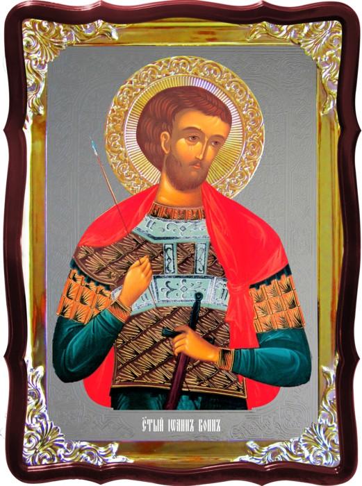 Икона православная Иоанн воин под заказ