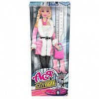 Кукла Ася Городской стиль Блондинка с аксессуарами 28 см (35069)
