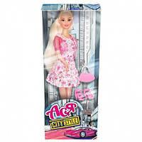 Кукла Ася Городской стиль Блондинка с аксессуарами 28 см (35070)