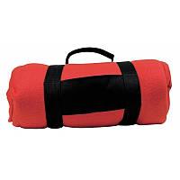 Флисовый плед Nashville 180x120 см, красный, розница