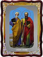 Православная икона Петра и Павла - старинные иконы