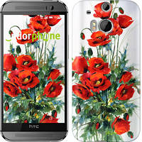 "Чехол на HTC One M8 dual sim Маки ""523c-55-6129"""