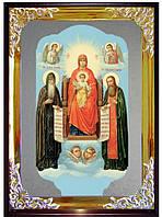 Икона православной церкви - Святые Антоний и Феодосий для церкви