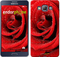 "Чехол на Samsung Galaxy A7 A700H Красная роза ""529c-117-6129"""