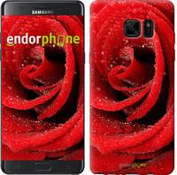 """Чехол на Samsung Galaxy Note 7 Duos N930F Красная роза """"529u-346-6129"""""""