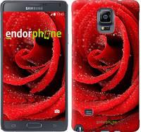 """Чехол на Samsung Galaxy Note 4 N910H Красная роза """"529c-64-6129"""""""