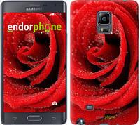 """Чехол на Samsung Note Edge SM-N915 Красная роза """"529u-128-6129"""""""