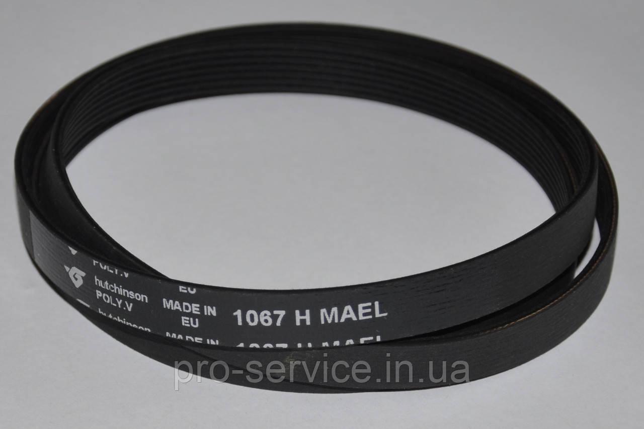 Ремень 1067 H7 MAEL C00055310 для стиральных машин Indesit