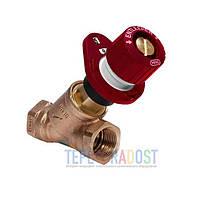 Балансировочный клапан для систем ГВС Honeywell Alwa-Kombi-4 V1810Y Rp 3/4 DN20 Kvs 6.4