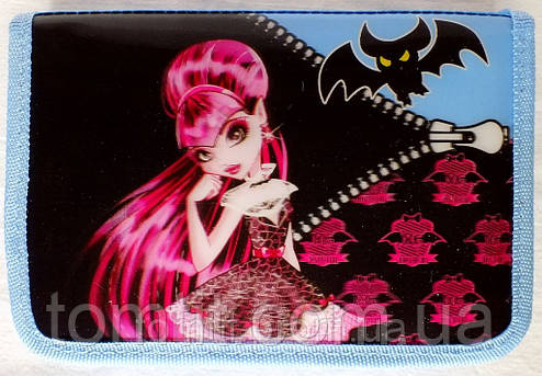 "Пенал-книжка ""Monster High - Дракулаура"" 936380-13, ТМ ""Smile"", фото 2"