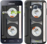 "Чехол на Samsung Galaxy J1 (2016) Duos J120H Кассета ""876c-262-6129"""
