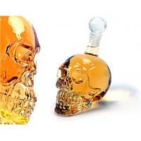 Графин - череп большой стекло 350 мл.