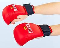Накладки (перчатки) для каратэ MATSA(S-XL)0010-R красный