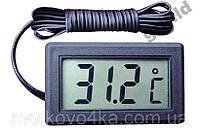 Цифровой термометр градусник с LCD выносной датчик dc-1
