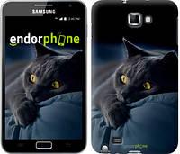 """Чехол на Samsung Galaxy Note i9220 Дымчатый кот """"825u-316-6129"""""""