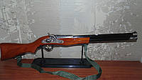 Сувенирное деревянное ружье зажигалка длина 74 см