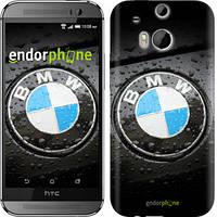 "Чехол на HTC One M8 BMW ""845c-30-6129"""