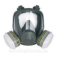Полнолицевая маска 3М серии 6000 (6700, 6800, 6900)