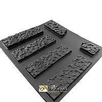 """Форма для изготовления декоративного (искусственного) камня и плитки """"Пиксель"""""""