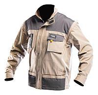 NEO Neo Tools Куртка рабочая 2 в 1, 100% хлопок, 180 г/м2, ISO, XL/56 (81-310-XL)