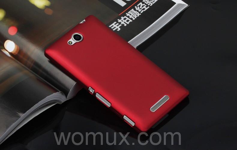 Оригинальный чехол панель накладка бампер CLASIC COLOR CASE для телефона SONY XPERIA C C2305