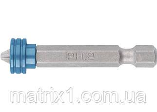 Бита PH 2x50 мм с ограничителем и магнитом, для ГКЛ, S2 Gross