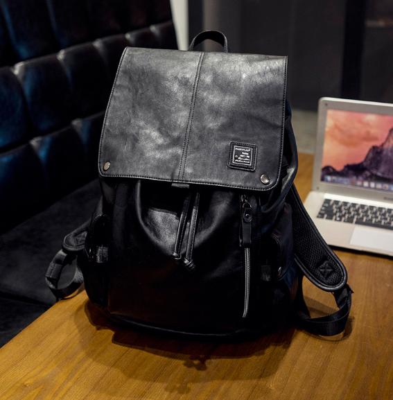 Мужская кожаная сумка. Модель 61220