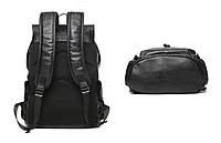 Мужская кожаная сумка. Модель 61220, фото 6