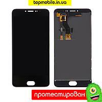 Модуль Meizu M3 Note M681H/M681Q/M681C (дисплей + тачскрин) черный-белый копия высокого качества