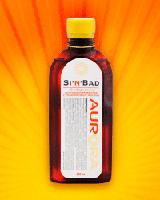 СинБад, ванна желтая скипидарная (с облепиховым маслом)