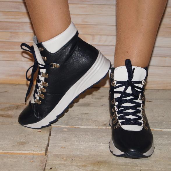 Женские ботинки из натуральной кожи - Интернет-магазин Verica  стильная  кожаная обувь оптом и 2e8f794261661