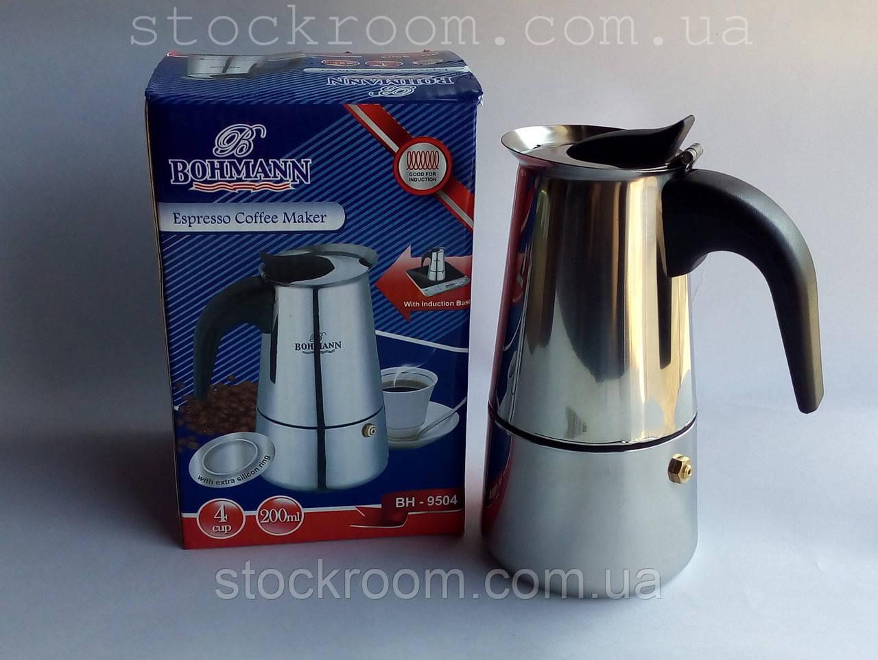 Гейзерная кофеварка Bohmann BH 9504