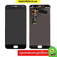 Модуль Meizu M2/M2 mini (дисплей + тачскрин), чёрный HC