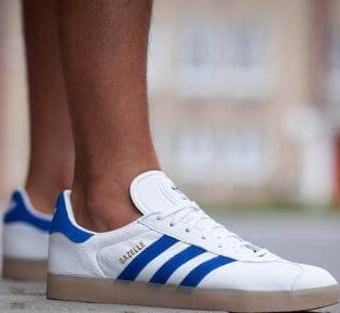 Кроссовки адидас/ Azul мужские 3196 Купи Adidas Gazelle Blanco/ Azul в магазине d663eee - hotlink.pw