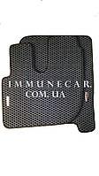 Авто ковры EVA в кабину RENAULT PREMIUM 1997- чёрного цвета
