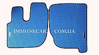 EVA ковры в кабину для  RENAULT PREMIUM синего цвета