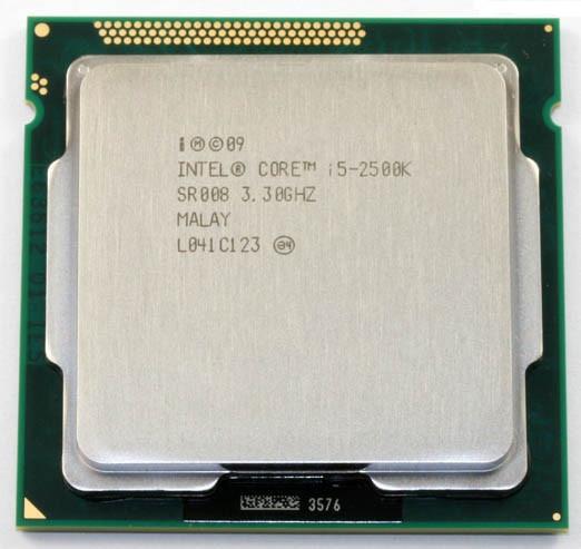 "Процессор Intel Core i5-2500K BX80623I52500K 3.3GHz Socket 1155 Tray ""Over-Stock"" Б/У"