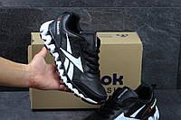 Кроссовки Reebok Zignano, чёрно белые
