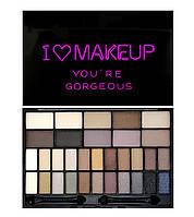 Палетка теней Makeup Revolution  I Heart Makeup Theme Palette - You're Gorgeous