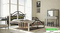 Кровать Диана на Деревянных ножках