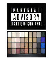Палетка теней Makeup Revolution  I Heart Makeup Slogan Palette Explicit Content
