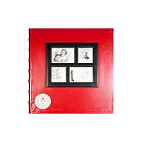 Фотоальбом Gallery 400ф 10х15 Красный