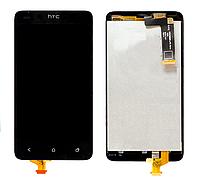 Дисплей (экран) для HTC T528d One SC + с сенсором (тачскрином) черный Оригинал