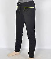 Штани спортивні жіночі трикотажні під манжет, фото 3