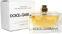 Tester Dolce & Gabbana the One edt 75ml женские