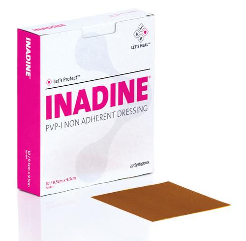 Inadine -  антибактериальная повязка Инадин для лечения язв, хронических ран, порезов