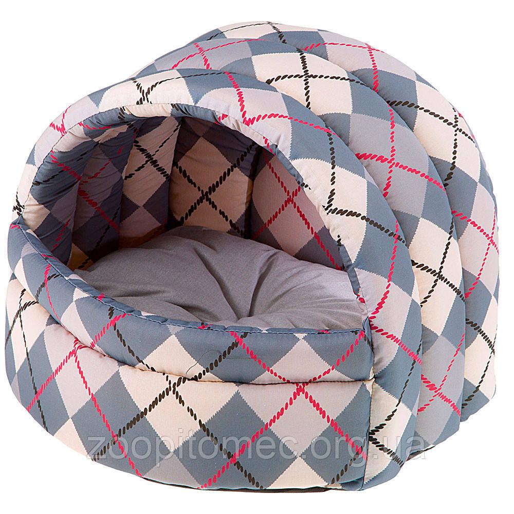 Мягкий домик лежак для собак и котов Ferplast (Ферпласт) ALVEO 40