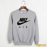 Мужской свитшот (реглан) Nike, серый