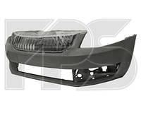 Бампер передний Skoda Octavia A7 13- с решеткой (FPS)